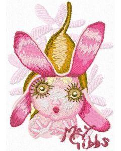 Gumnut Baby 1 embroidery design