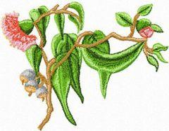 Gumnut Flowers 1 embroidery design