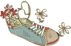 Gumshoes 6 embroidery design