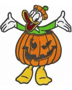 Halloween Donald embroidery design