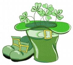 Happy St. Patric's Day 2 embroidery design