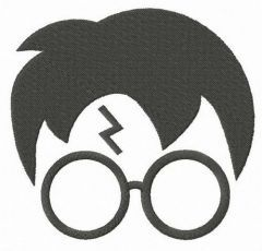 Harry Potter icon embroidery design