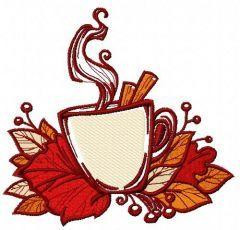 Hello autumn 2 embroidery design