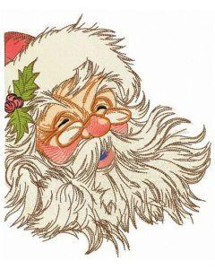 HO HO HO Merry Christmas embroidery design