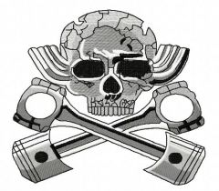 Hot Rod 2 embroidery design