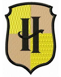 Hufflepuff embroidery design