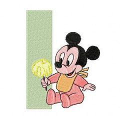 Mickey Mouse I - Ice Cream embroidery design