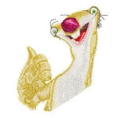 Sid embroidery design