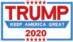 Keep America Great embroidery design