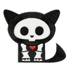 Skelanimals Kit embroidery design