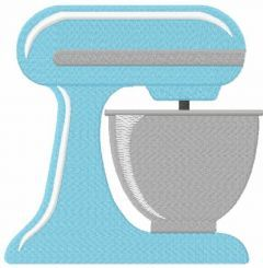 Kitchen stand mixer free embroidery design