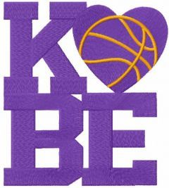Kobe embroidery design
