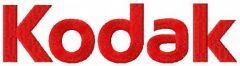 Kodak logo machine embroidery design