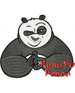 Kung Fu Panda embroidery design 3