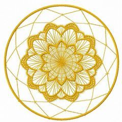 Lace doily embroidery design 14