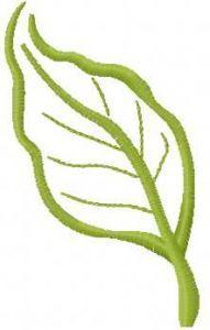 Leaf 14 embroidery design