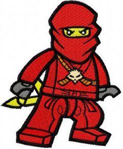 LEGO Ninjago Kai 2 embroidery design