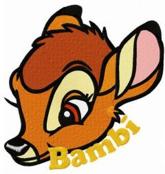Little Bambi embroidery design