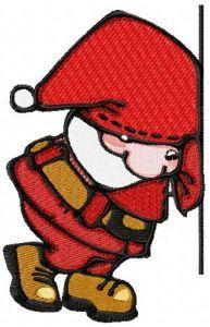 Little Santa 3 embroidery design