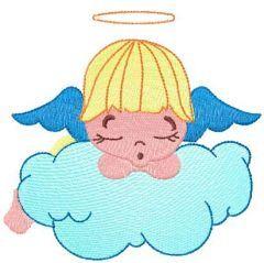 Little sleeping angel 5 embroidery design
