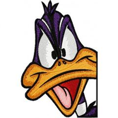 Looney Tunes Duck 2 embroidery design