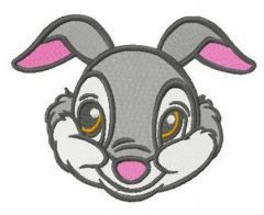 Lovely Thumper embroidery design