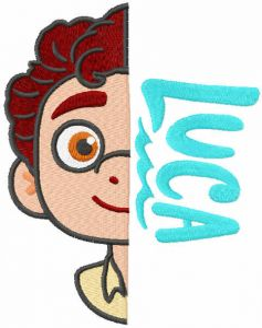 Luca hero embroidery design