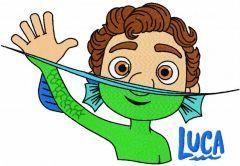 Luca trending embroidery design