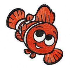 Marlin embroidery design 1