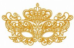 Mask 10 embroidery design