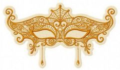 Mask 6 embroidery design