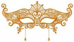 Mask 7 embroidery design