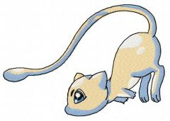 Mew 3 embroidery design