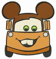 Mickey Mater embroidery design
