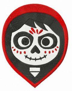 Miguel Rivera embroidery design