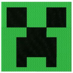 Minecraft Creeper embroidery design