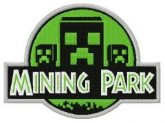 Mining Park embroidery design