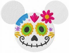Minnie coco embroidery design