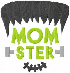 Momster free embroidery design