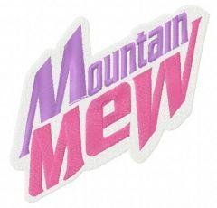 Mountain Mew 2 embroidery design
