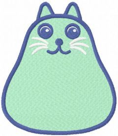 Mr. Mittens embroidery design