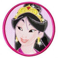 Mulan embroidery design