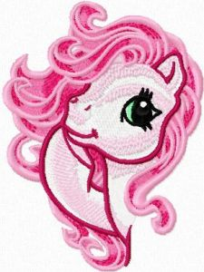 My Little Pony 1 embroidery design