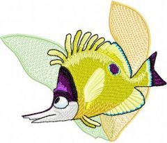Finding Nemo embroidery design 9