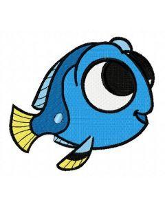 Nemo's friend embroidery design