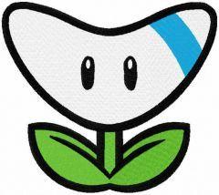 Nintendo badge arcade embroidery design