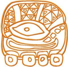 Old Turtle embroidery design