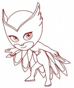 Owlette 2 embroidery design
