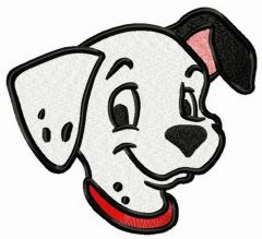 Patch muzzle embroidery design