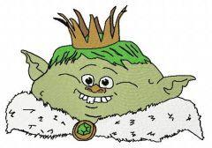 Prince Gristle 3 embroidery design